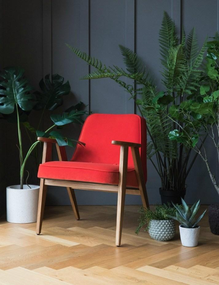 Polish designer jozef chierowski 366 easy chair