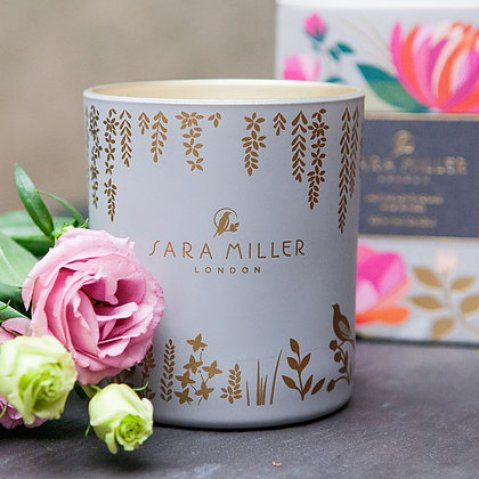 Gorgeous scented home fragrance products from Sara Miller London