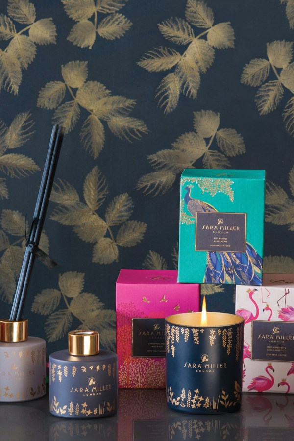 Home fragrance candles and diffusers from Sara Miller London
