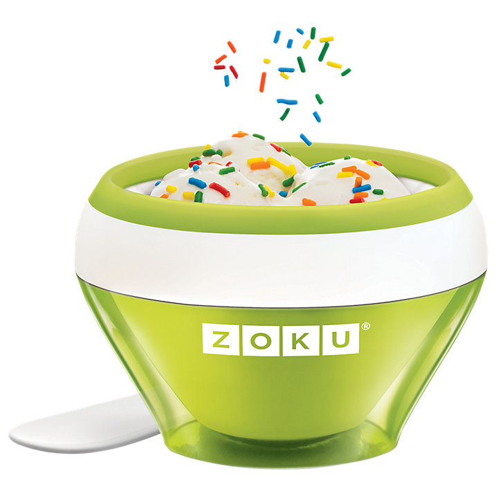 Need ice cream quickly? Invest in the super quick Zoku ice cream maker and have a frozen dessert ready in 10 minutes!