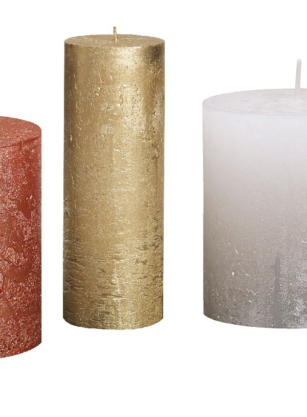 Product review: Bolsius metallic rustic candles