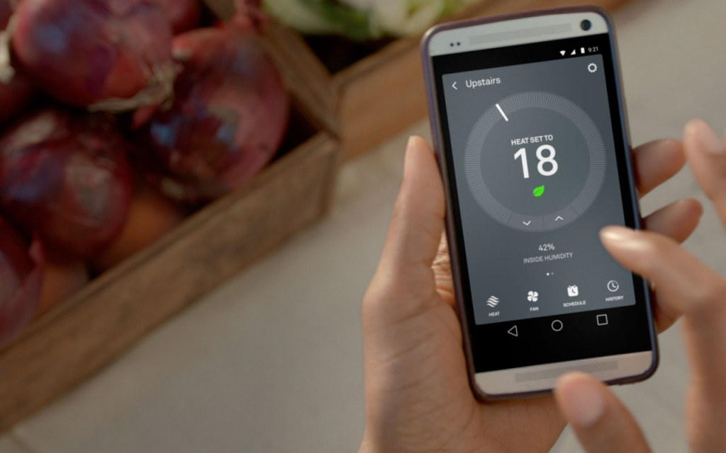 Smart home technology allows you to control your heating from your phone