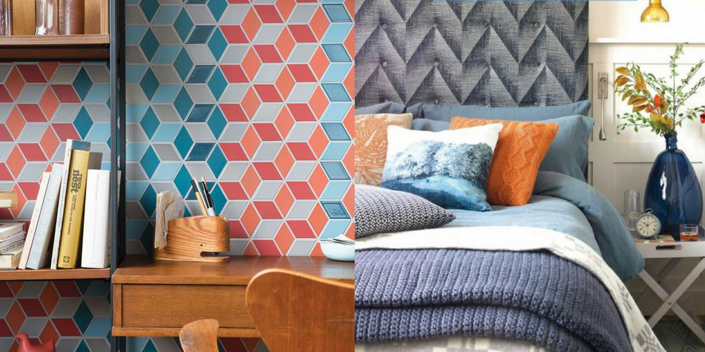 Resourceful colour palette by Pantone for home decorating