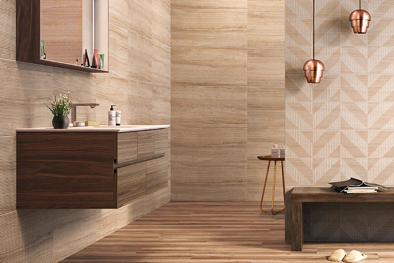 Travertine natural limestone is a brilliant type of tile to decorate your bathroom floors and walls with - click through to find out why