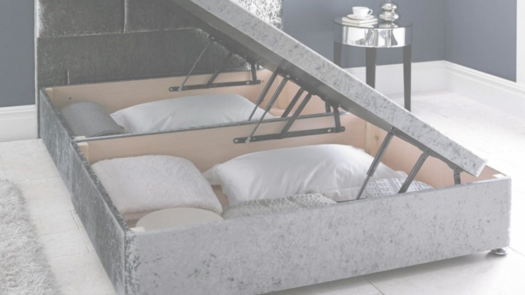 Competition time - win your very own ottoman bed with heaps of hidden storage