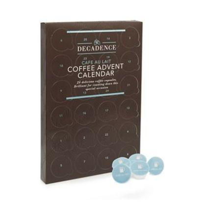 Coffee lovers advent calendar from Debenhams