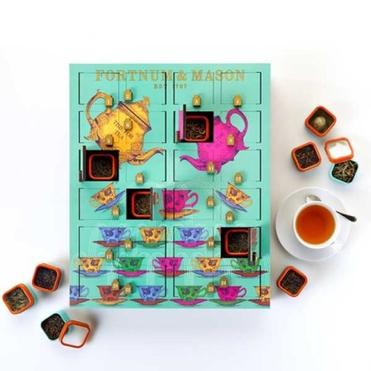 Discover a new rare tea each day during advent with this luxury rare tea advent calendar
