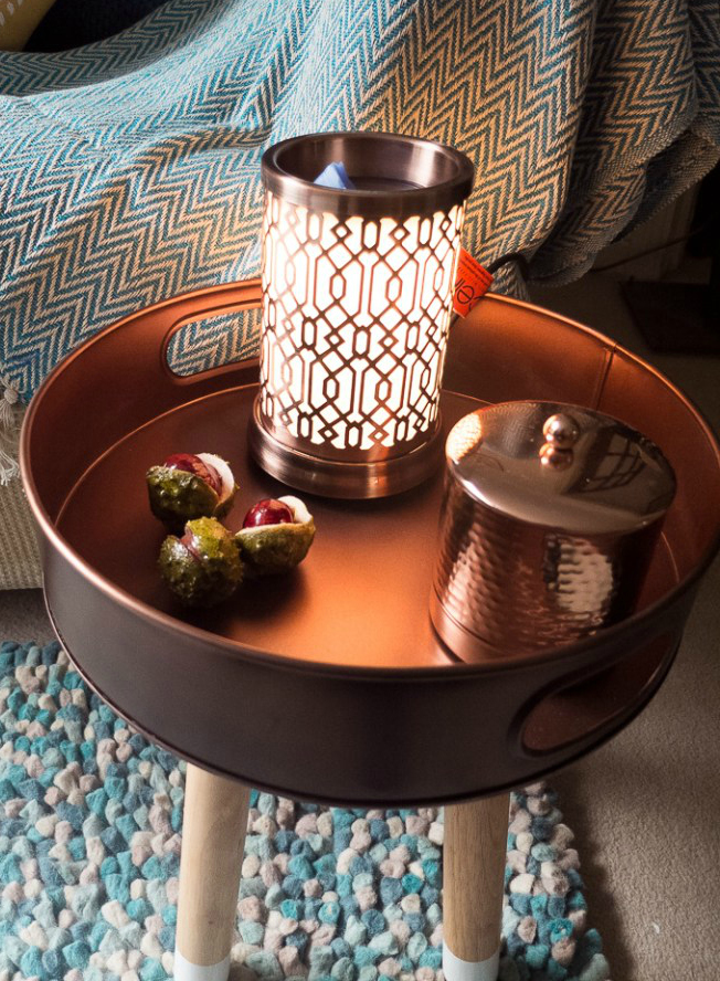 The Cello electric wax melt burner is a stylish and safe way to scent your home or office