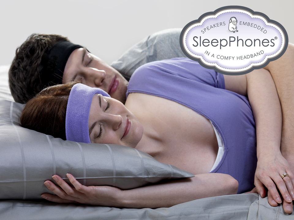 Clever idea to make using headphones in bed more comfortable