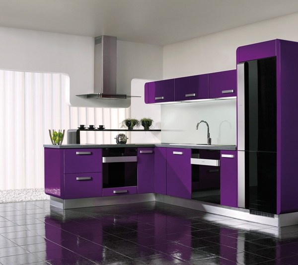 Pantone Colour of the Year 2018: How to use Ultra Violet purple in your kitchen