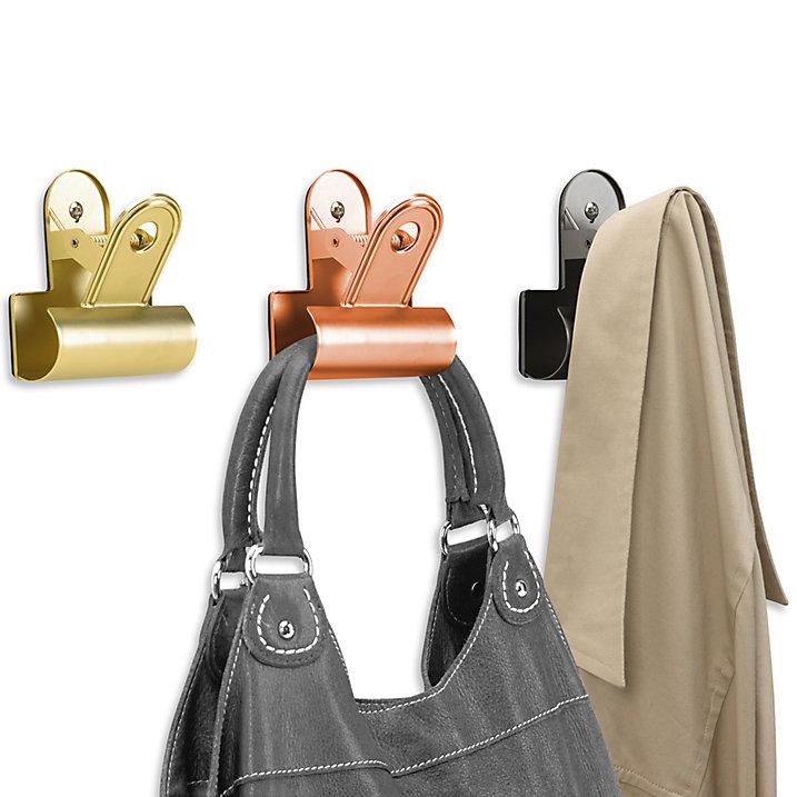 Umbra giant clipper bulldog clip design hanging storage solution