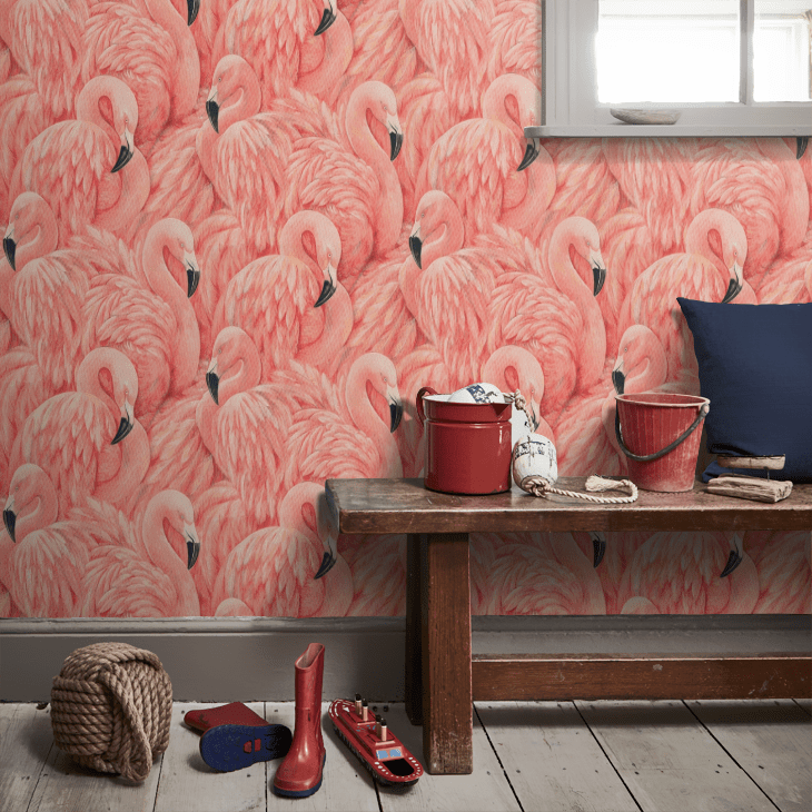 Get flamingos on your wall for less, with this fab sale bargain decor