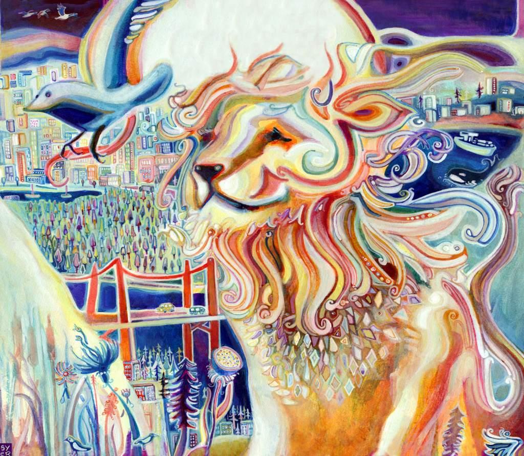 Stunning contemporary artwork by Josh Byer
