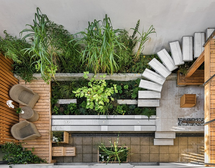 How to create a contemporary, low maintenance garden