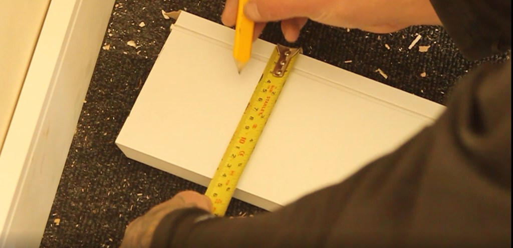 How to fit skirting boards using screws