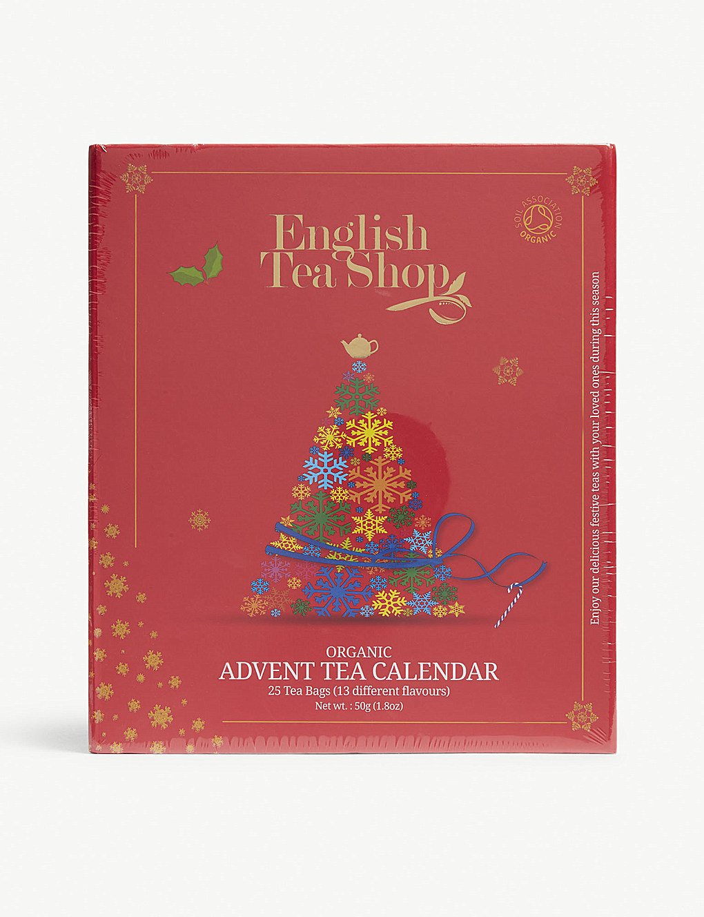 Countdown to Christmas with a tea themed advent calendar