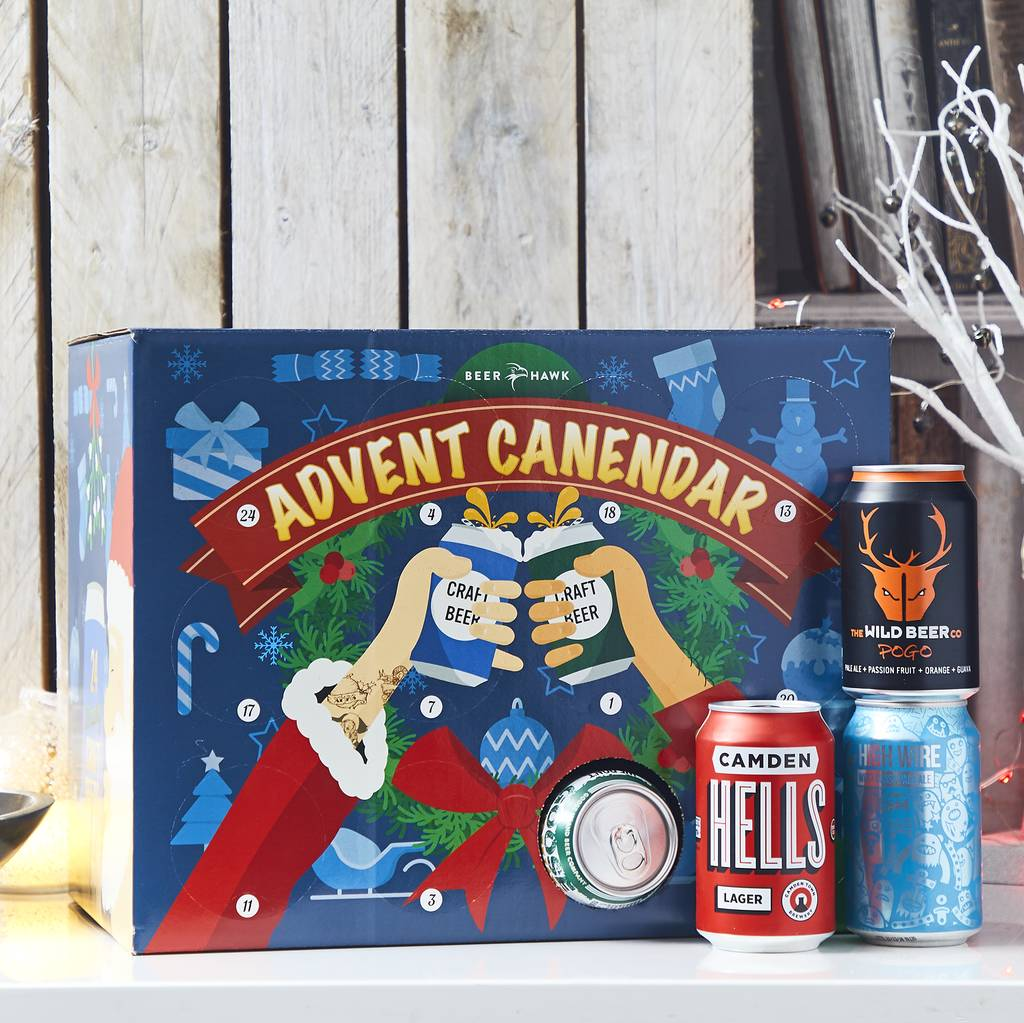 Craft beer advent calendar to count down to Christmas