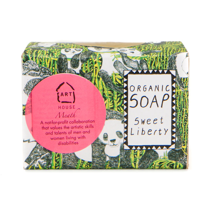 This organic soap, with its panda design wrapping, would make a great stocking filler