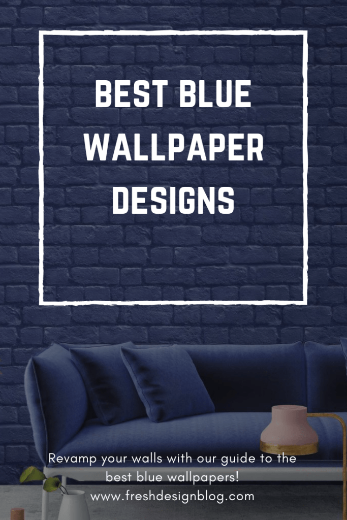 Decorate your home with blue and use one of the best blue wallpaper designs available. Plenty of ideas and inspiration for all home decor styles and tastes