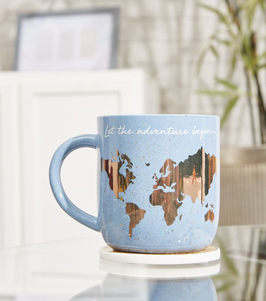 Lovely indigo blue mug from the affordable homeware range at New Look