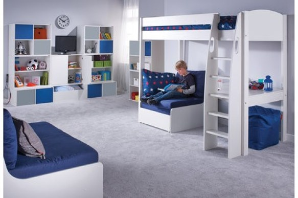 Invest in a multi-functional bed for your child's room to help make better use of minimal space