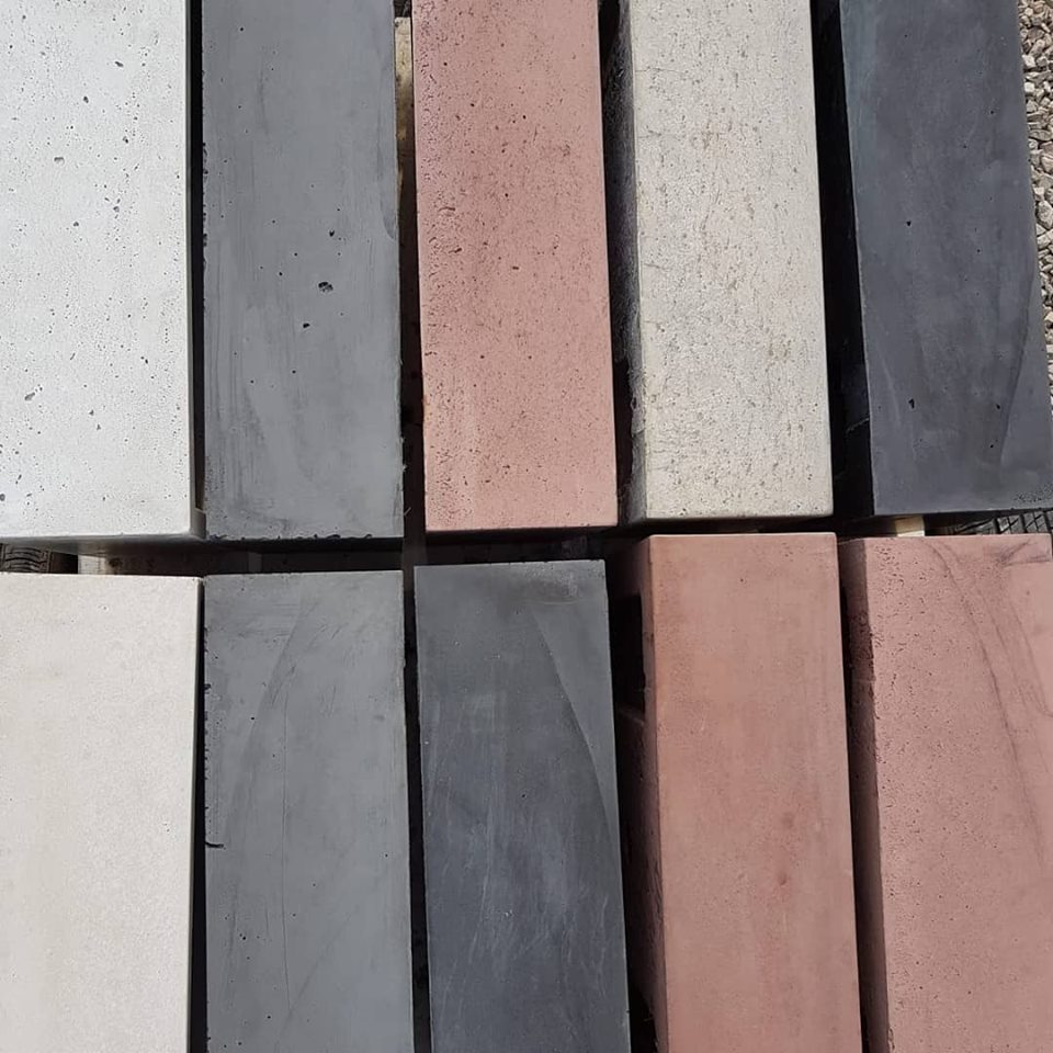 Colour swatches used by the Poured Project