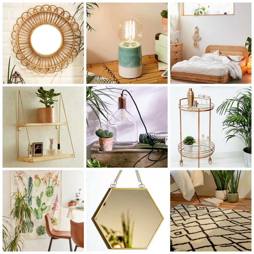 Lots of gorgeous homeware bargains in the Urban Outfitters summer sale 2019