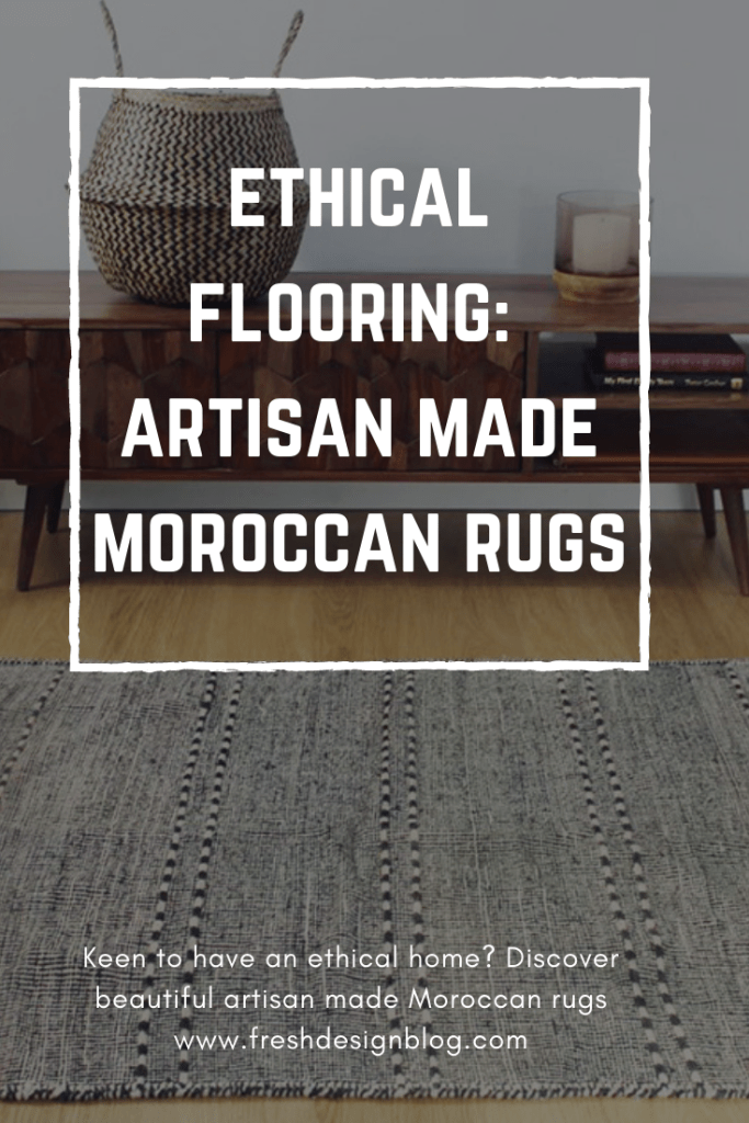 Make your home more ethical, with these beautiful artisan made Moroccan rugs. Available in a range of styles, the designs include some long-held blogger favourites!