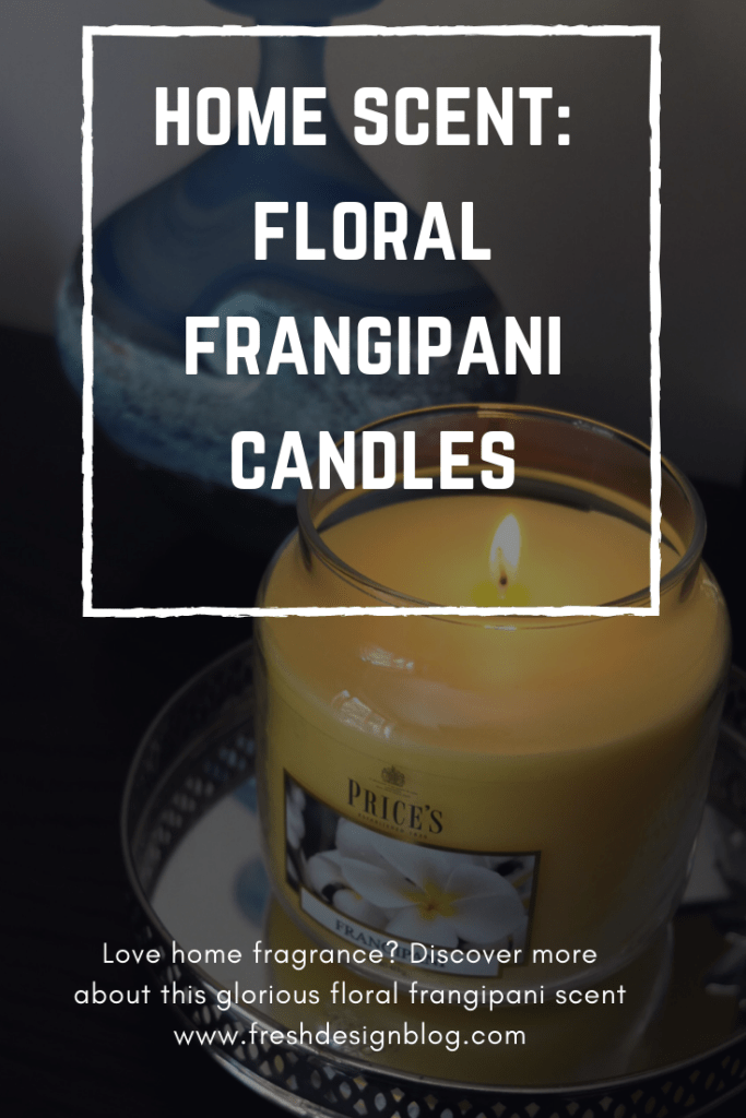 Discover a new home fragrance scent-sation! The candle jars have a great burn time and fill your house with the glorious aroma or floral frangipani. A must for candle lovers!
