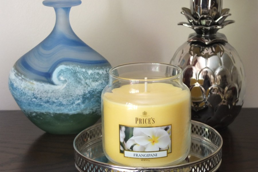 Price's Candles: Floral Frangipani Home Scent