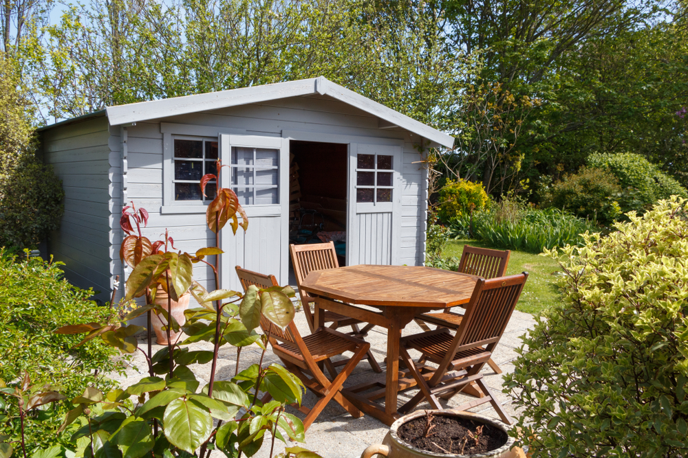 How do you use your garden shed? It's traditionally a great place to store garden equipment, but these days you can do so much more with a shed. From creating a kids playhouse or safe area for pets, to using it for guests or converting it into a home office.
