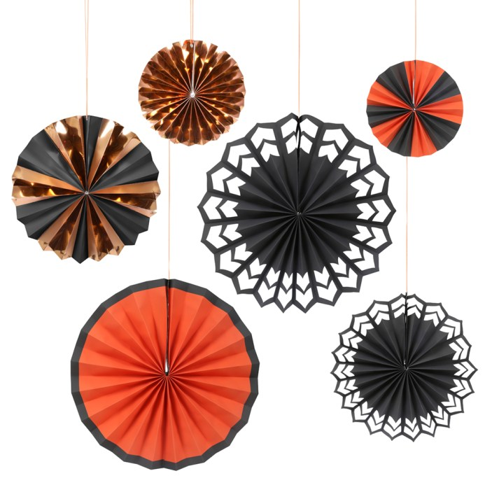 Little pinwheel hanging Halloween party decorations