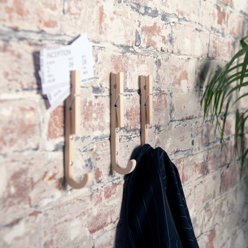 Sustainable design extends to coat hooks too!