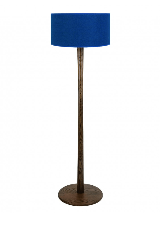 Classic blue colour floor lamp