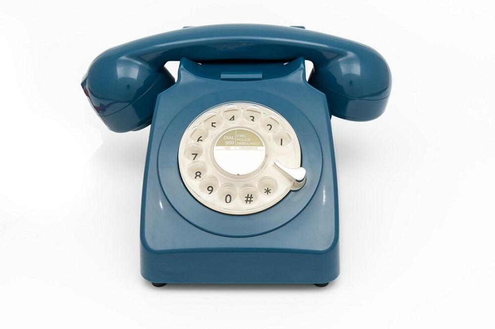 Fab retro style rotary phone