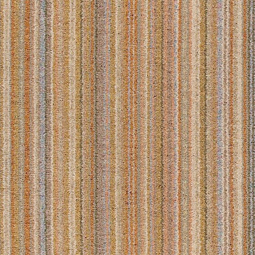Light sandalwood orange stripe carpet