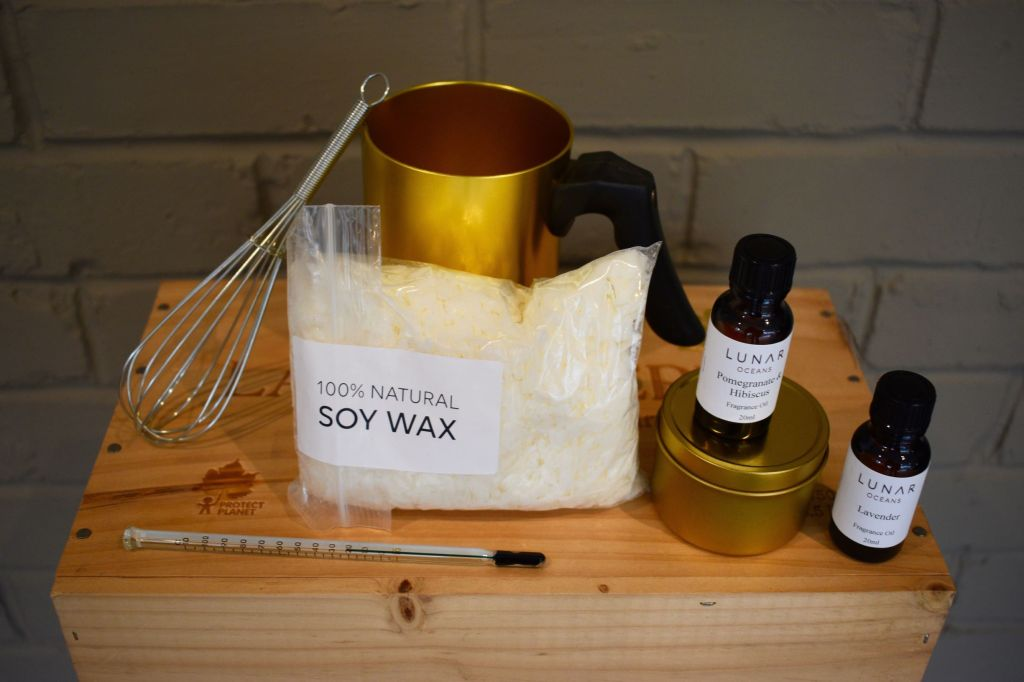 Scented candle making kit from Lunar Oceans