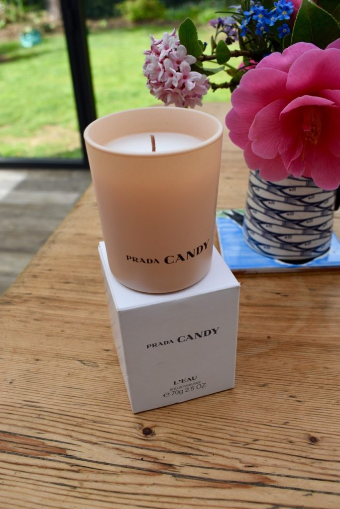 Prada Candy scented candle from Scentsational