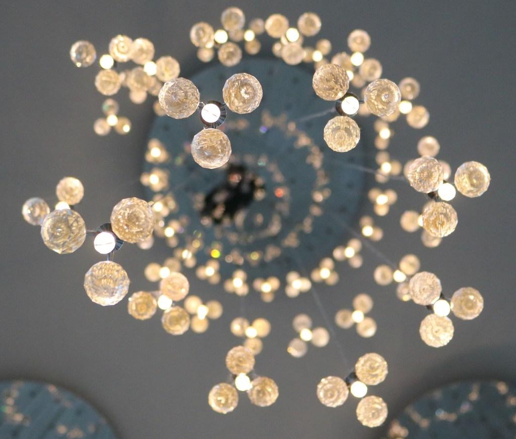 Stunning handmade chandelier light