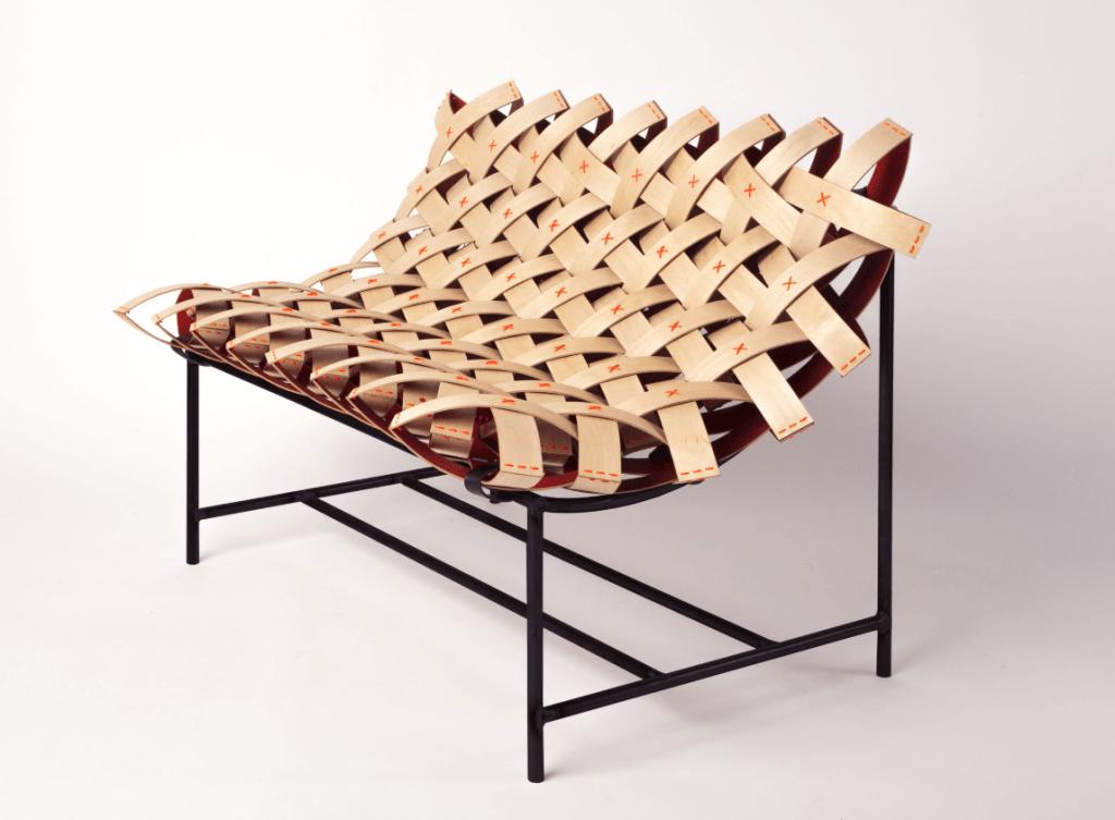 MOWO sustainable plywood seat