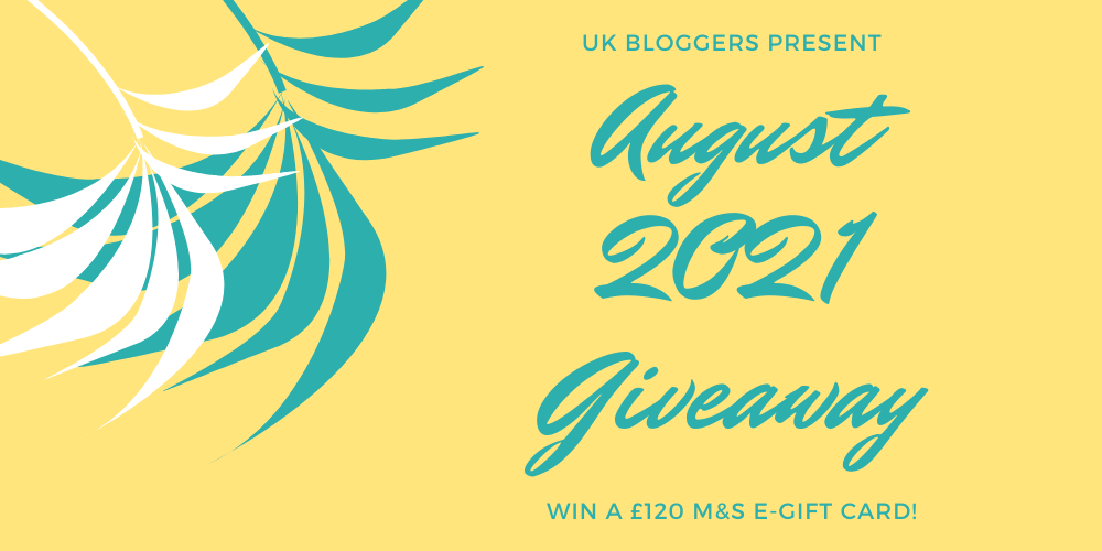 UK Bloggers August 2021 Summer Prize Giveaway Competition
