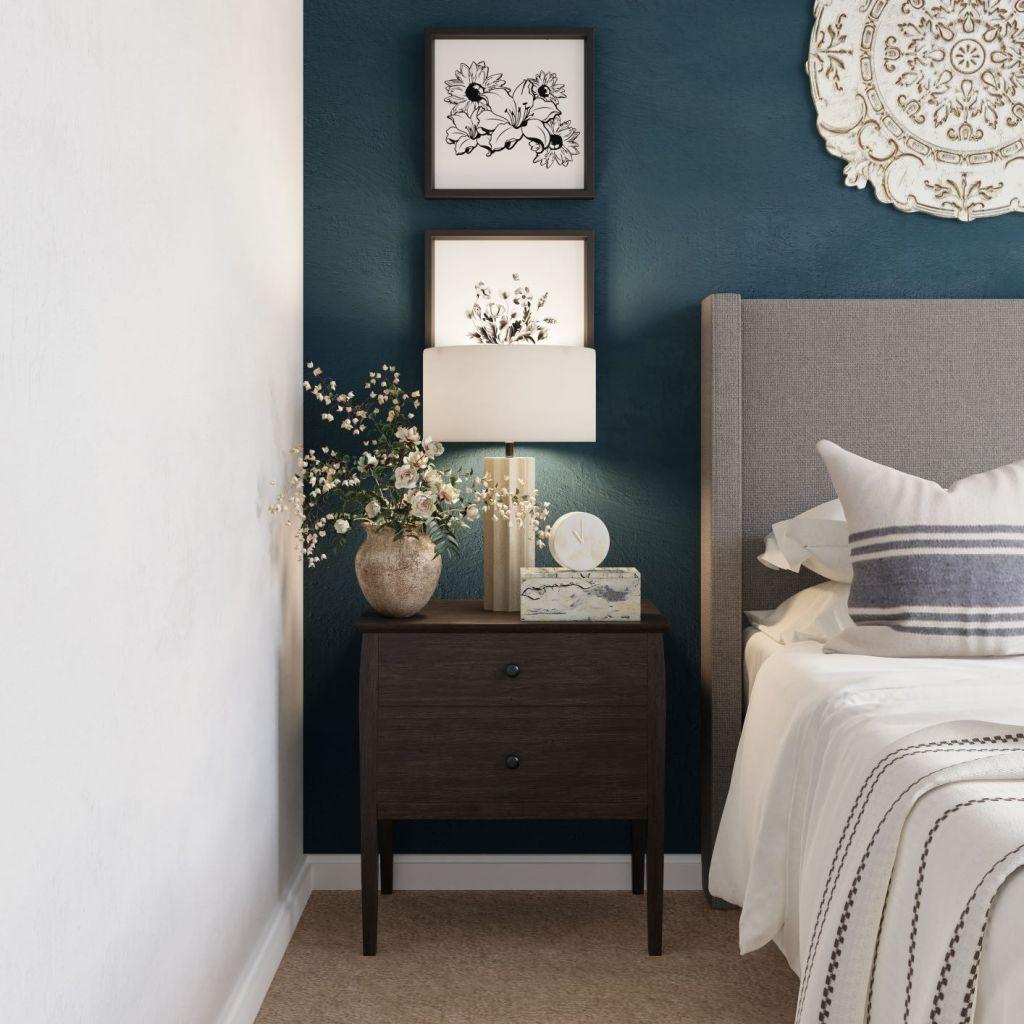 Delightfully designed bedroom