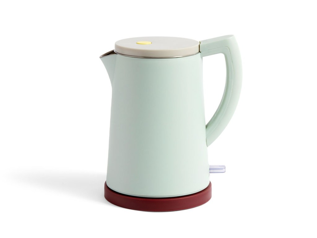 Hay Sowden electric kettle in a gorgeous pastel colour. Available from Nest