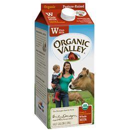 Order Organic Valley UltraPasteurized Whole Milk Carton