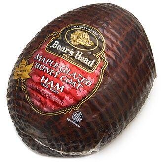 Boar39s Head Maple Glazed Honey Coat Ham