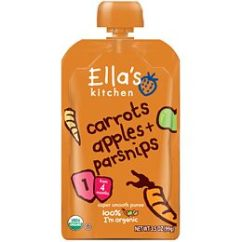 Ellas Kitchen Baby Food How To Build Your Own Cabinets Order Ella S Stage 1 Organic Carrots Apples And Parsnips Puree