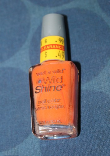 wet-n-wild-wild-shine-nail-color orange nail polish