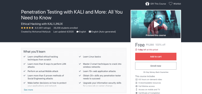 Penetration Testing with KALI and More: All You Need to Know