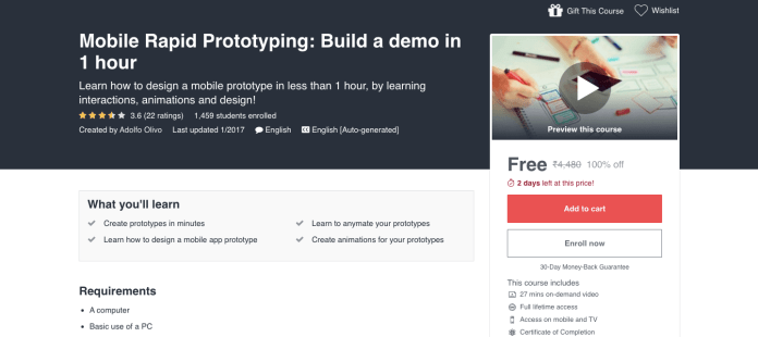 Mobile Rapid Prototyping: Build a demo in 1 hour
