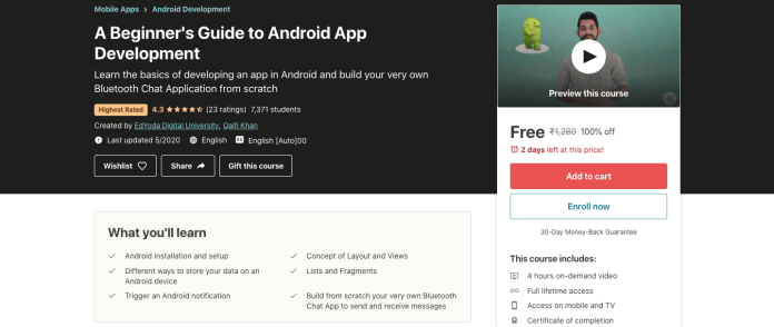 A Beginner's Guide to Android App Development